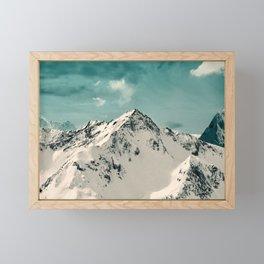 Snow Peak Framed Mini Art Print