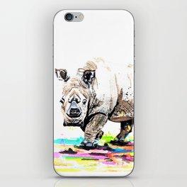 Sudan the last male northern white rhino iPhone Skin