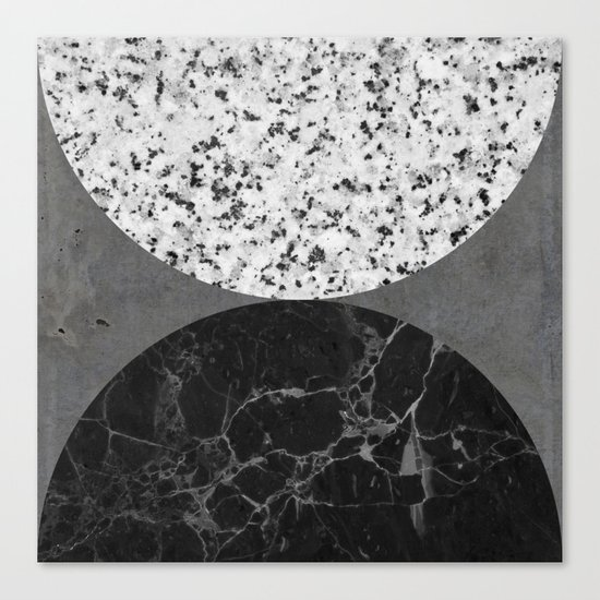 Marble, Granite, Concrete Abstract Canvas Print