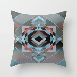 Southwest Geo - Cool Throw Pillow