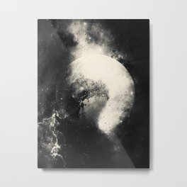 Pluto in Love Metal Print