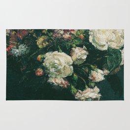 Henri Fantin Latour - Vase Of Flowers Rug