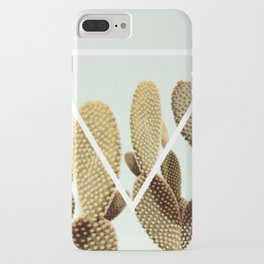 Cactus geometry iPhone Case
