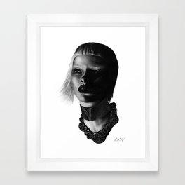 Versace InSanity. Framed Art Print