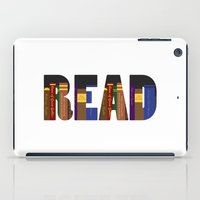 read iPad Cases featuring READ by Empire Ruhl