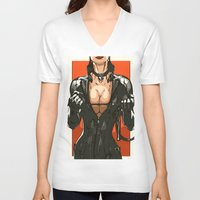 sin city V-neck T-shirts featuring SIN CITY by Born2do