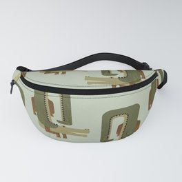 Whimsy Crocodile Fanny Pack