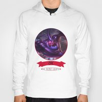 league of legends Hoodies featuring League Of Legends - Zac by TheDrawingDuo