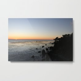 Big Sur Sunset 1 Metal Print