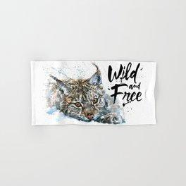 Lynx Wild and Free Hand & Bath Towel