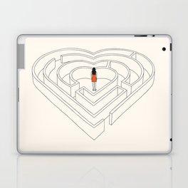 lost in love Laptop & iPad Skin