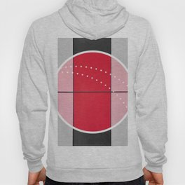 August - black and white graphic Hoody