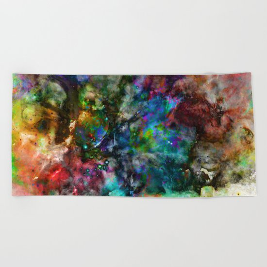 Everything is nothing 18 (therefore it was beautiful) Beach Towel