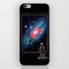 Looking Through a Masterpiece iPhone Skin
