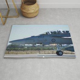 RAAF FA-18 Hornet Rug