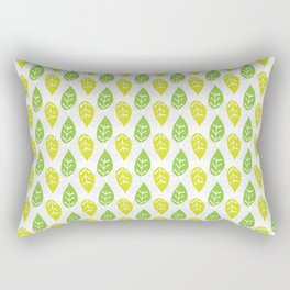 Turn Over A New Leaf Rectangular Pillow
