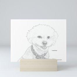 Portrait of Lambchop Mini Art Print