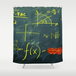 Mathematical Equation Shower Curtain