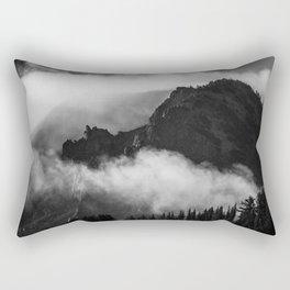 Cloudy Mountain Rectangular Pillow