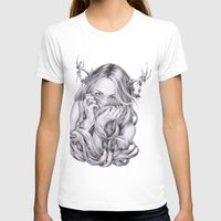 sister T-shirts featuring Begonia's Sister by April Alayne