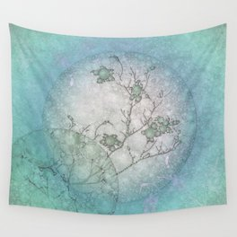 Serenity Blue Wall Tapestry