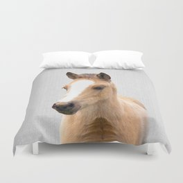 Baby Horse - Colorful Duvet Cover