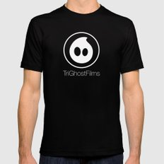 TriGhostFilms Mens Fitted Tee Black MEDIUM