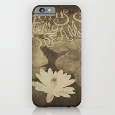 Lotus in My Dreams Slim Case iPhone 6s