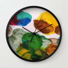 Swirls Collection Wall Clock