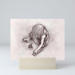 Ruby and the Rat Mini Art Print