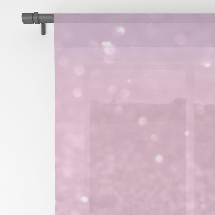 Unicorn Princess Glitter #1 (Photography) #pastel #decor #art #society6 Sheer Curtain