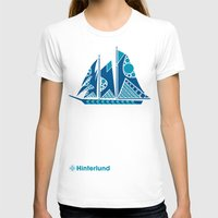 sailboat T-shirts featuring Sailboat by Hinterlund