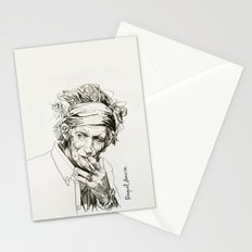 Keith portrait 2 Stationery Cards
