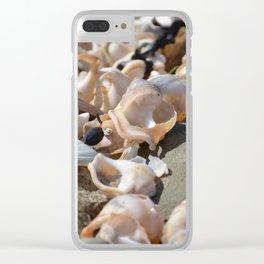 Broken shells 2 Clear iPhone Case