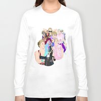 niall Long Sleeve T-shirts featuring Niall Collage by Pinkeyyou