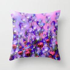 Spring Blush too, Mauve Moods Throw Pillow