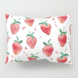 Strawberries Pow Pillow Sham