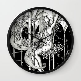 Butterfly hall Wall Clock