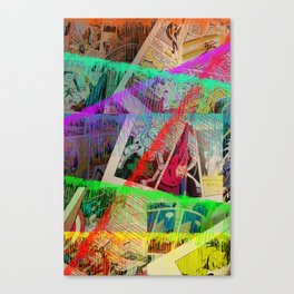 Ink the Page Canvas Print
