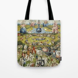 THE GARDEN OF EARTHLY DELIGHT - HEIRONYMUS BOSCH Tote Bag