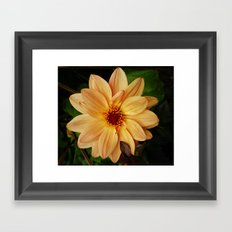 EVERYTHING IS JUST PEACHY Framed Art Print