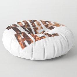 Burn Them All Floor Pillow
