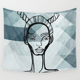 Outlined Wall Tapestry