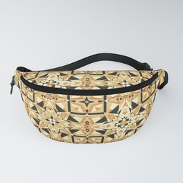Cookie Or Hardwood? Try And Find Out! Seamless Pattern Fanny Pack