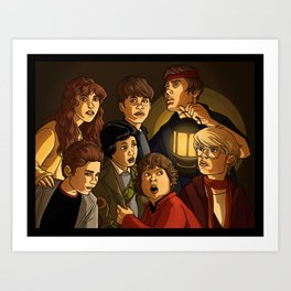 "They call themselves 'the Goonies"" Art Print"