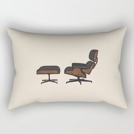TFP #1 Eames Lounge Rectangular Pillow