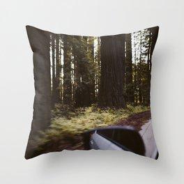 Speedy Throw Pillow