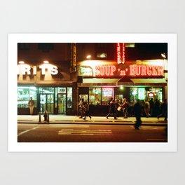 Street Nights Art Print