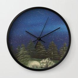 Starry Night - Pure Nature Wall Clock