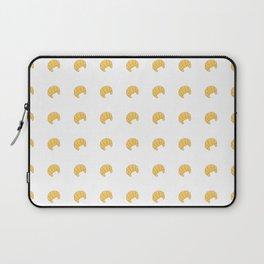 Croissant Pattern Laptop Sleeve